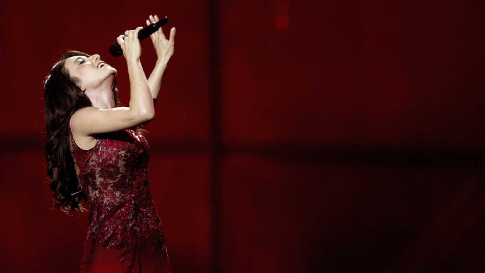 """Eurovisión 2014 - Dilara Kazimova representa a Azerbaiyán con la canción """"Start a fire"""""""