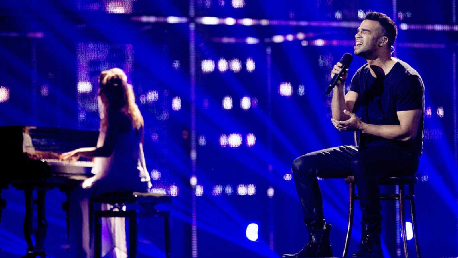 "Eurovisión 2014 - András Kállay-Saunders representa a Hungría con la canción ""Running"""