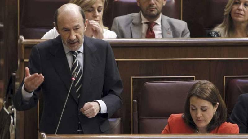 Rubalcaba y Rajoy se han lanzado reproches en torno al paro