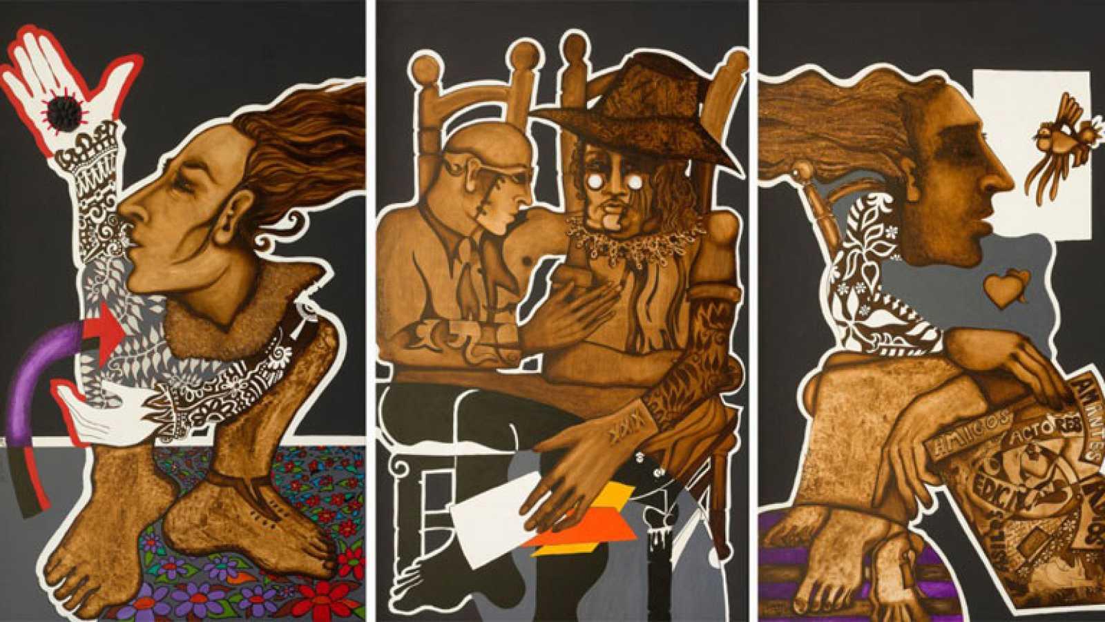 Fernando Barreira resume su trayectoria artística en la exposición 'LAINFAMEINFANCIA'