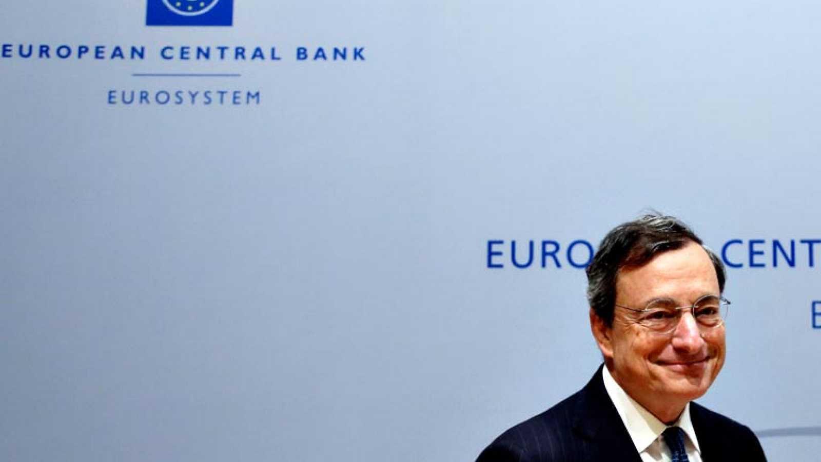 """Draghi: """"No estamos satisfechos con el camino previsto para la inflación"""""""