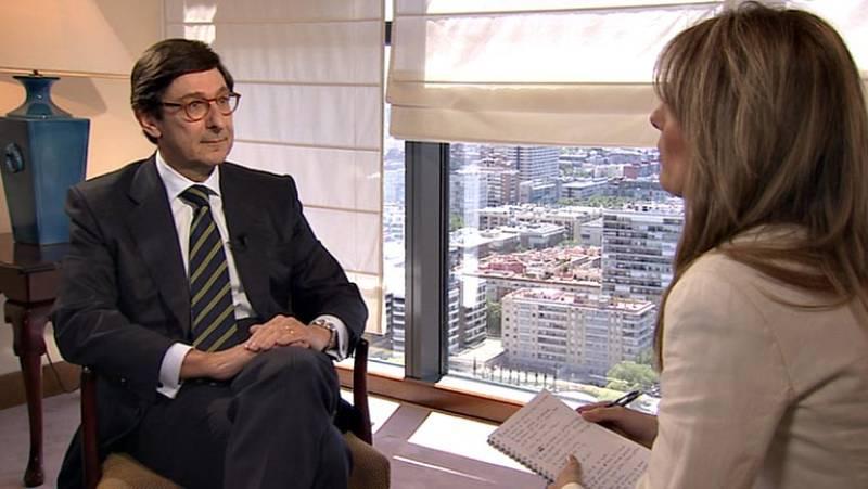 """Goirigolzarri: """"El balance de estos dos años es muy positivo porque Bankia es una entidad muy sólida"""""""