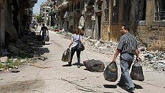 El Ejército sirio entra en el casco antiguo de Homs