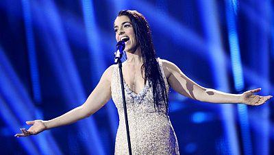 """Ruth Lorenzo canta """"Dancing in the rain"""" en representación de España"""