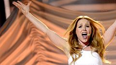 """Eurovisión 2014 - San Marino: Valentina Monetta canta """"Maybe (Forse)"""" en la final de Eurovisión 2014"""