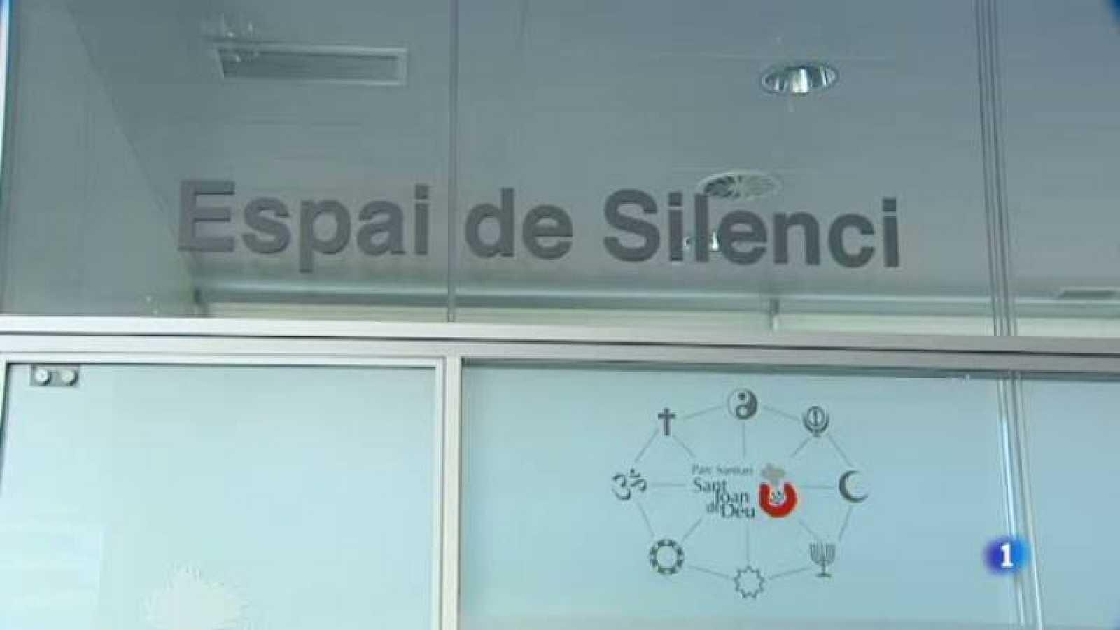 L'espai silenci del Parc Sanitari Sant Joan de Déu