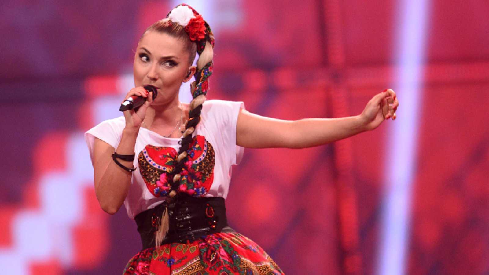"""Donatan & Cleo cantan """"My slowianie"""" en representación de Polonia"""