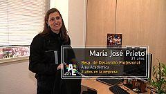 Maria José Prieto (31 años) Responsable del Servicio de Desarrollo Profesional