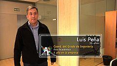 Luis Peña (36 años) Coordinador del Grado de Ingeniería