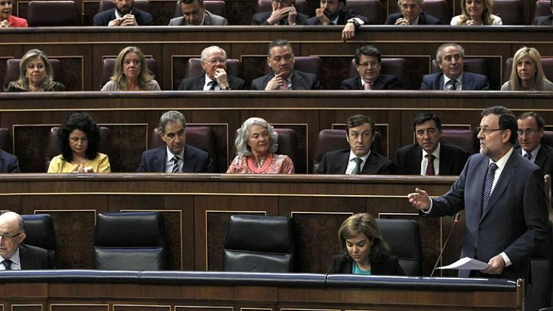 Sesión de control marcada por el asesinato de León y la campaña electoral
