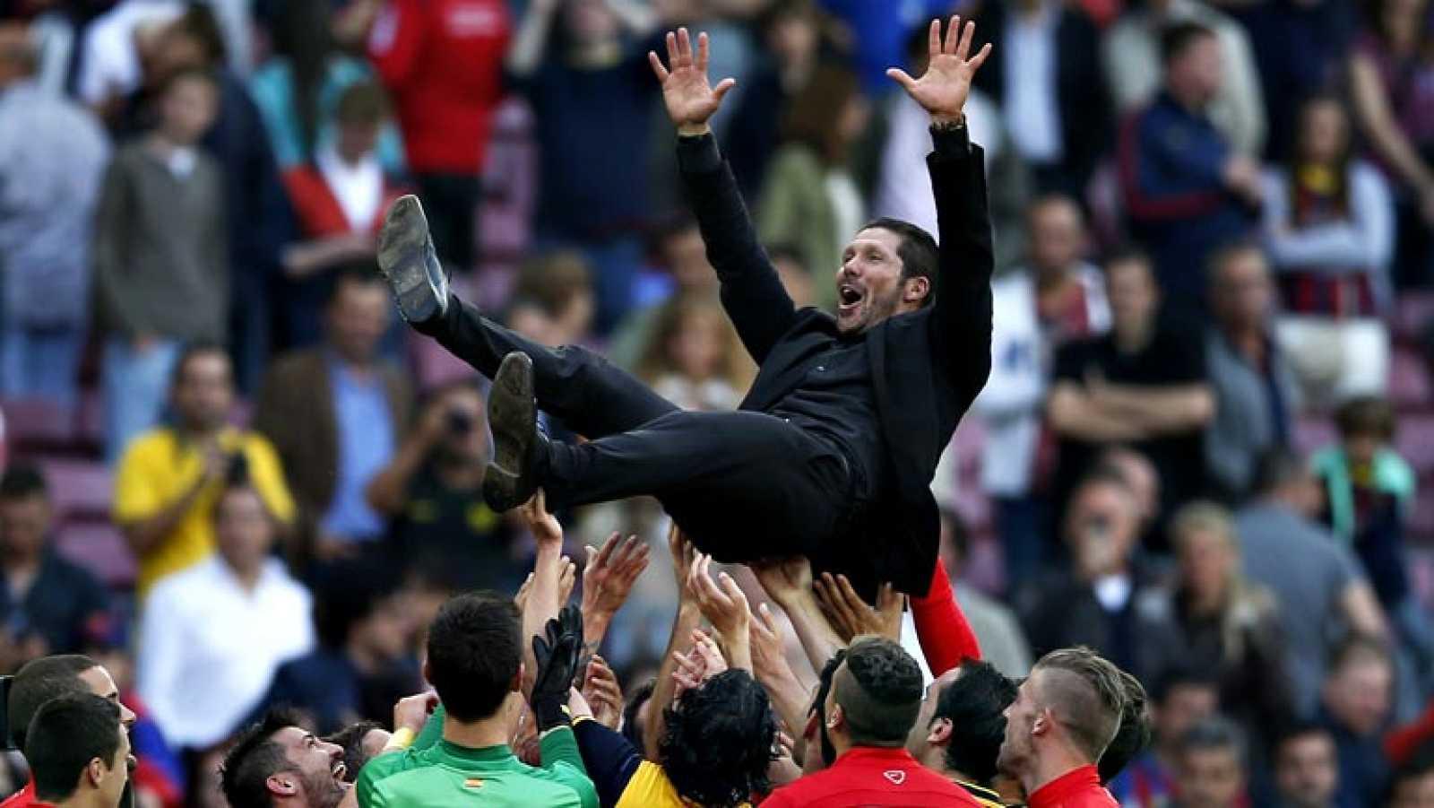 Atlético de Madrid, campeón de Liga | Diego Pablo Simeone ...