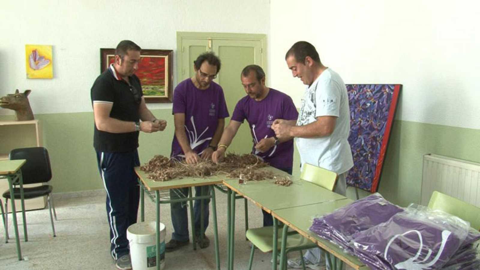 Promoción del azafrán de La Mancha
