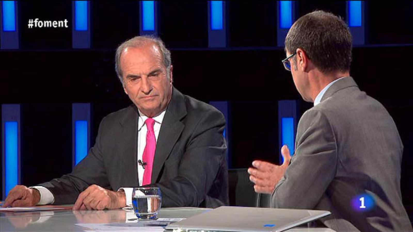 El Debat de La 1 - Joaquim Gay de Montellà, president de Foment del Treball