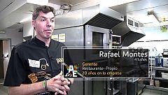 Rafael Montes (41 años) Gerente de Restaurante Propio