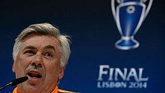 Rueda de prensa íntegra de Ancelotti