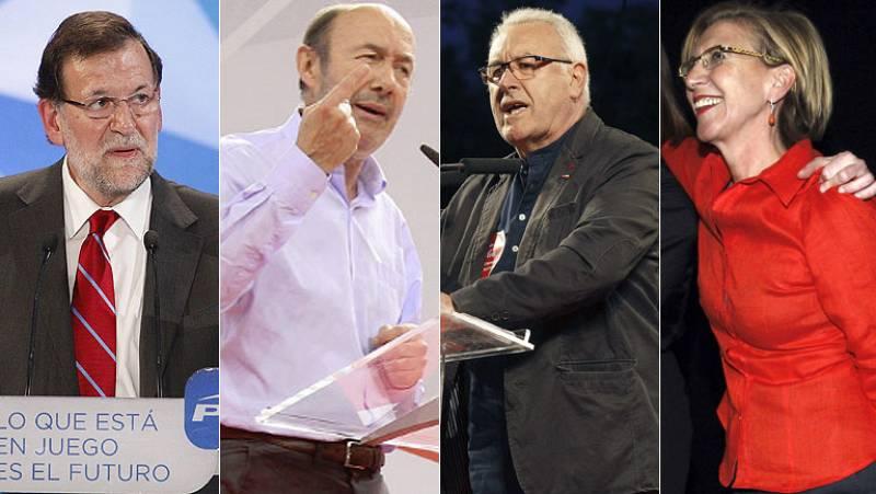 Cierre de la campaña de las elecciones europeas 2014