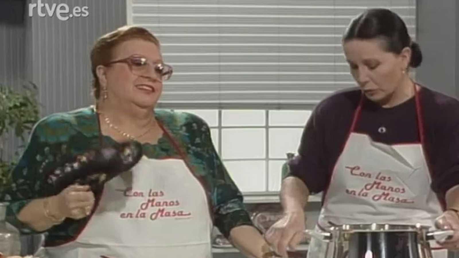 Con las manos en la masa - Patatas a la importancia y Manzanas Florinda con Florinda Chico