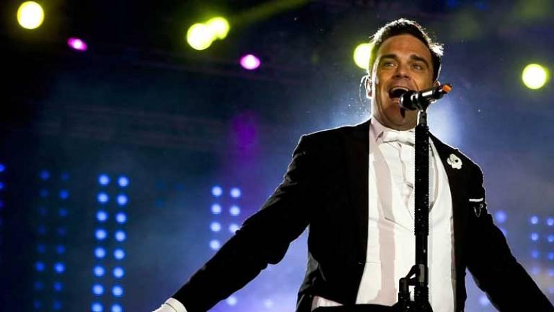 El británico Robbie Williams inaugura Rock in Río