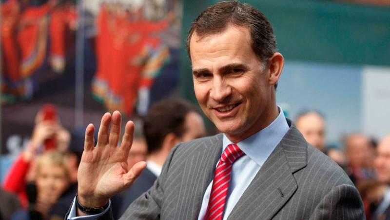 El Príncipe de Asturias se convertirá en el rey Felipe VI