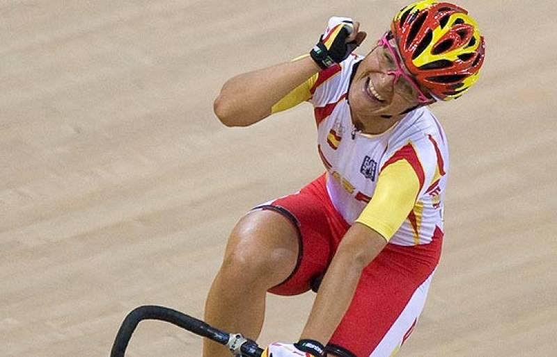 Leire Olaberría ha conseguido el bronce en el último suspiro de la prueba de puntuación, consiguiendo tres puntos en el sprint definitivo.