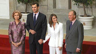 Informe Semanal: Felipe y Letizia, un compromiso de futuro