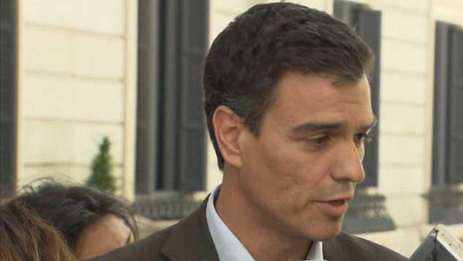 Pedro Sánchez avanza alguna de sus ideas para liderar el partido socialista