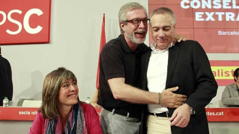 Pere Navarro hace efectiva su dimisión al frente del PSC