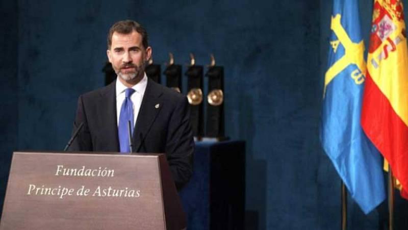 Este año los premios Príncipe de Asturias los entregará ya el Rey Felipe VI