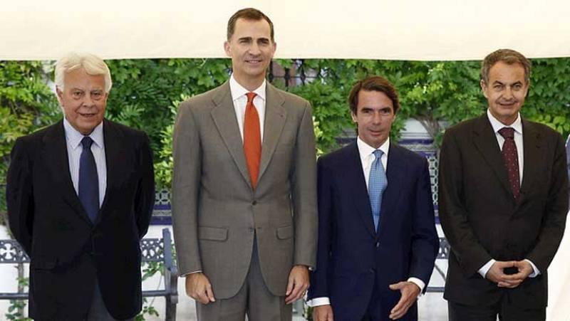El Príncipe Felipe preside la reunión del patronato del Instituto Elcano