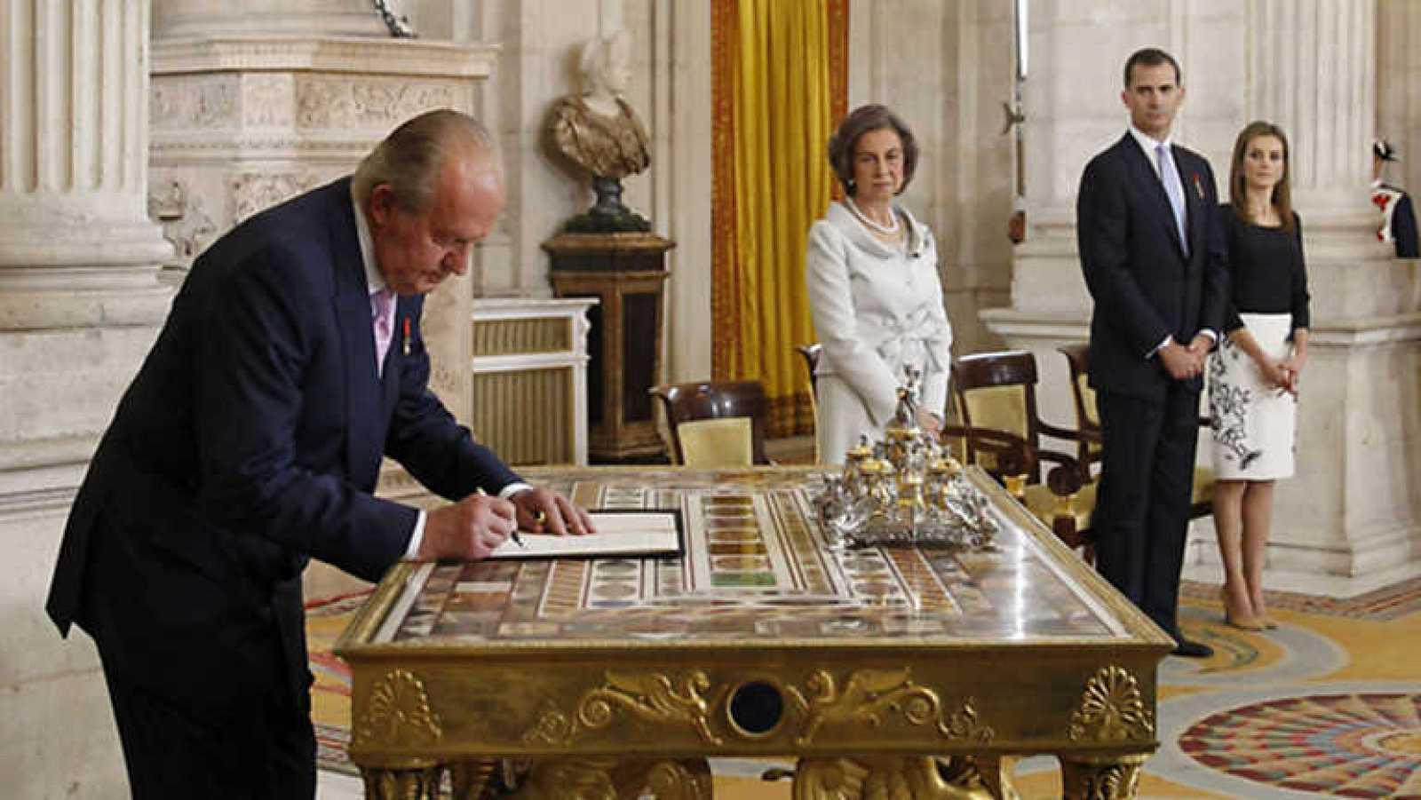 Especial informativo - Sanción de la Ley de Abdicación de S.M. Juan Carlos I - ver ahora