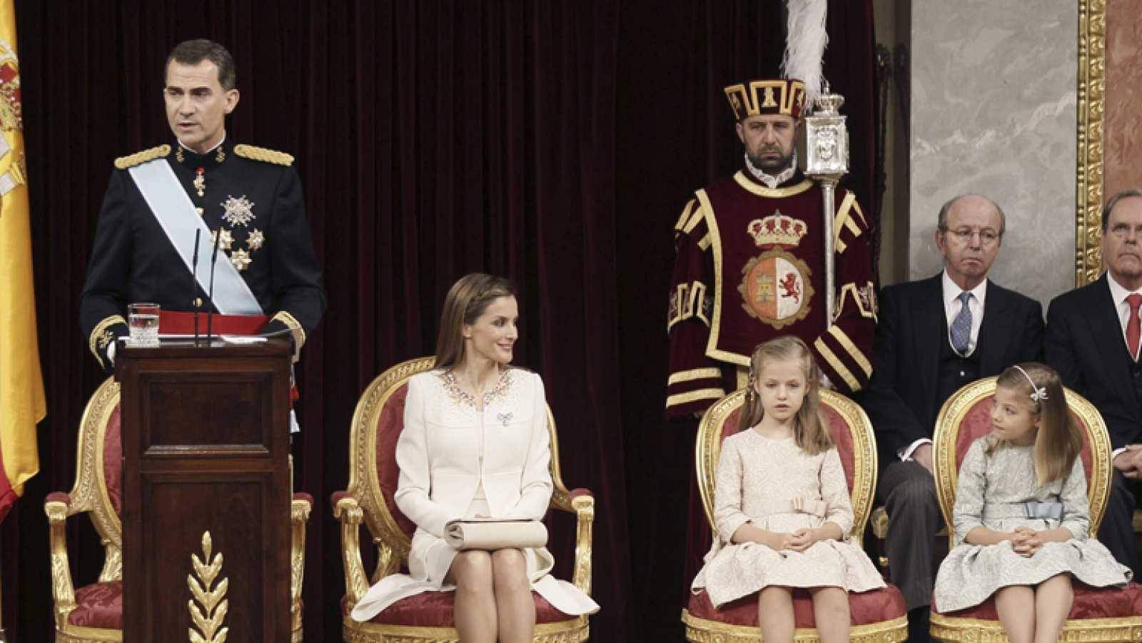 Menciones especiales en el discurso del Rey