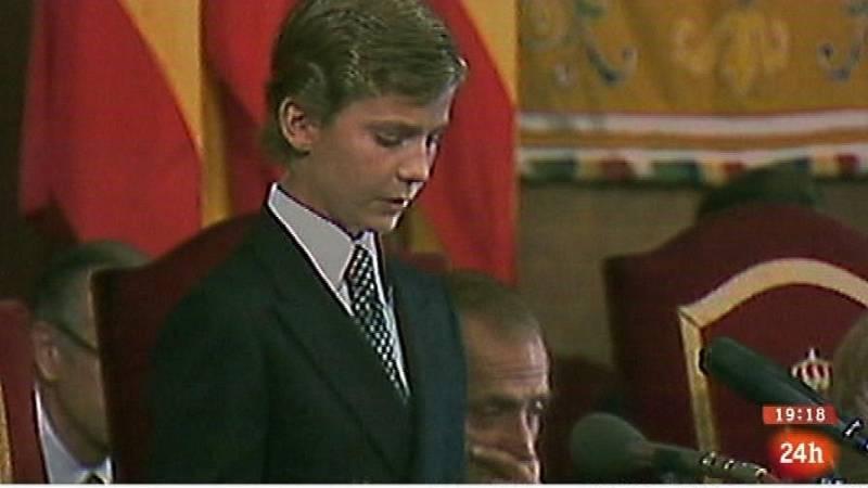 Parlamento - El reportaje - Vida de Felipe VI - 21/06/2014