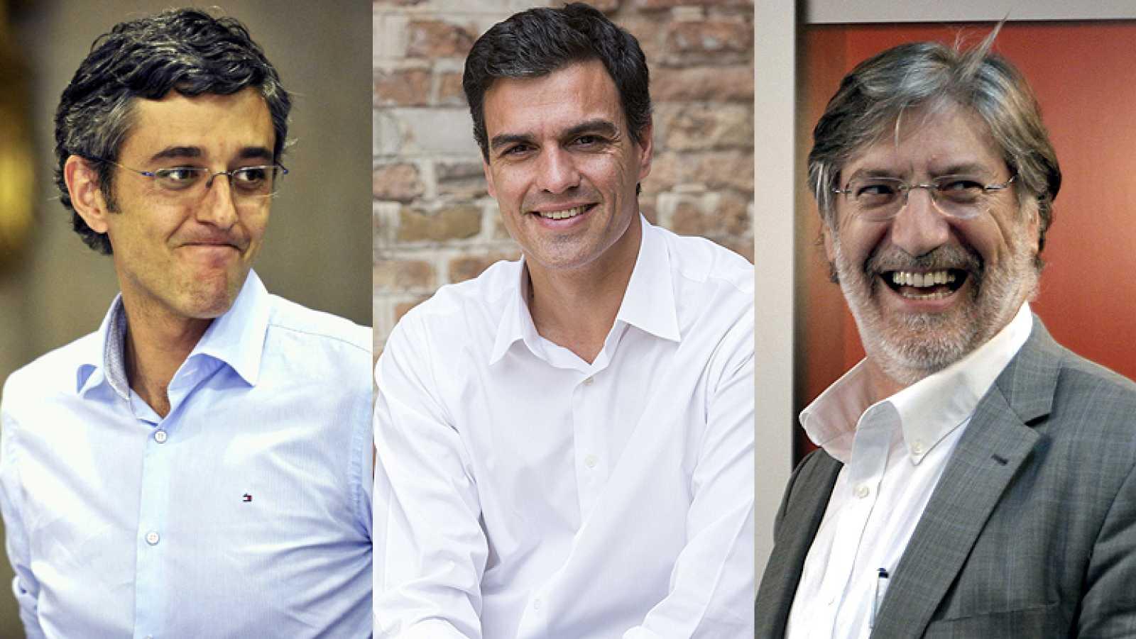 El PSOE ya tiene tres candidatos a la secretaría general respaldados por las firmas de los militantes
