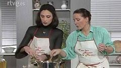 Con las manos en la masa - Cazuela de papas y canuto de carne con María Barranco