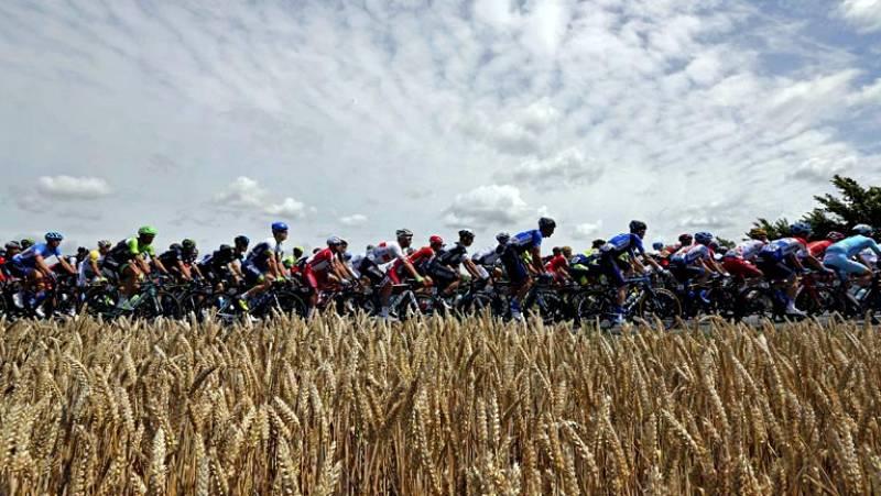 Vídeo promocional de la 100ª edición del Tour de Francia.