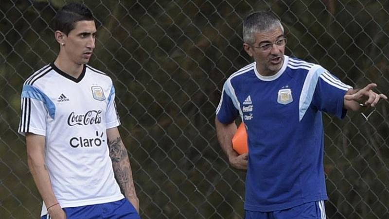 Ángel Di María acelera su recuperación pensando en llegar a la final