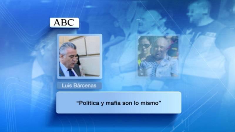 """Bárcenas: """"La política y la mafia son lo mismo"""""""