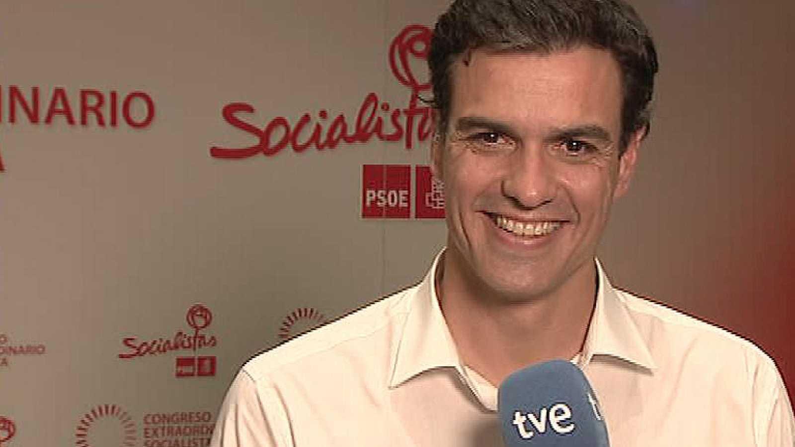 Sánchez ofrece la ayuda del PSOE a Artur Mas y Rajoy para llegar a acuerdos