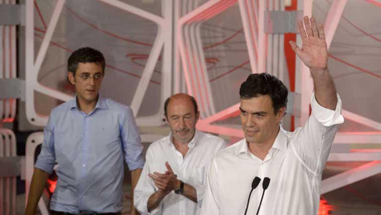 La militancia elige a Sánchez como secretario general del PSOE con el 49% de los votos