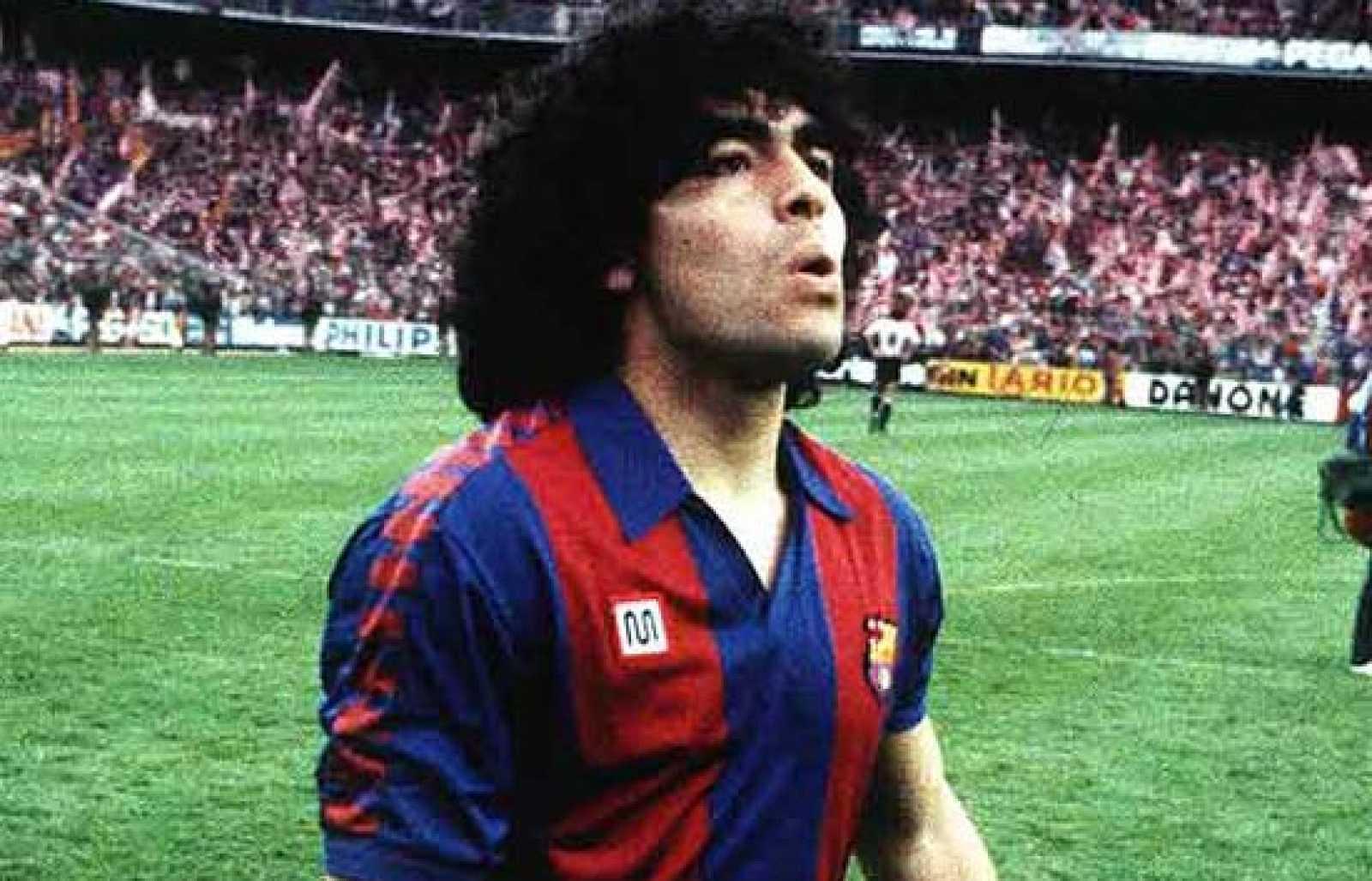 Arxiu TVE Catalunya - Història del Futbol Club Barcelona - Maradona i el moti de l'Hesperia - Capítol 12