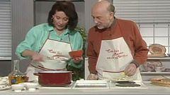 Con las manos en la masa - Potaje de arroz con alcachofas y alcachofas rellenas