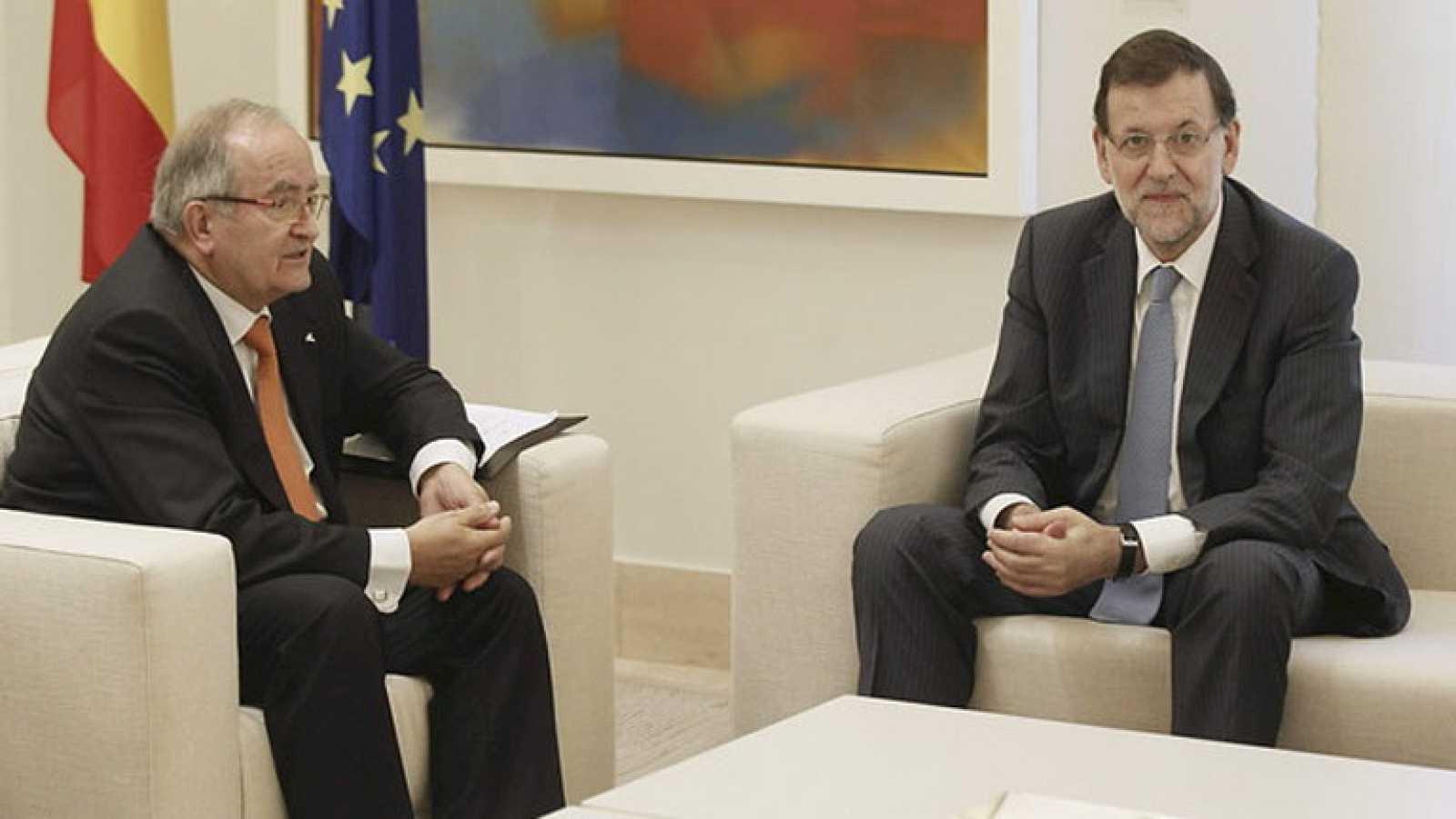 La reunión entre Mariano Rajoy y Artur Mas marca el debate político