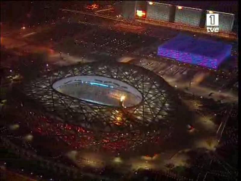 Ceremonia de clausura JJ.OO. Pekín