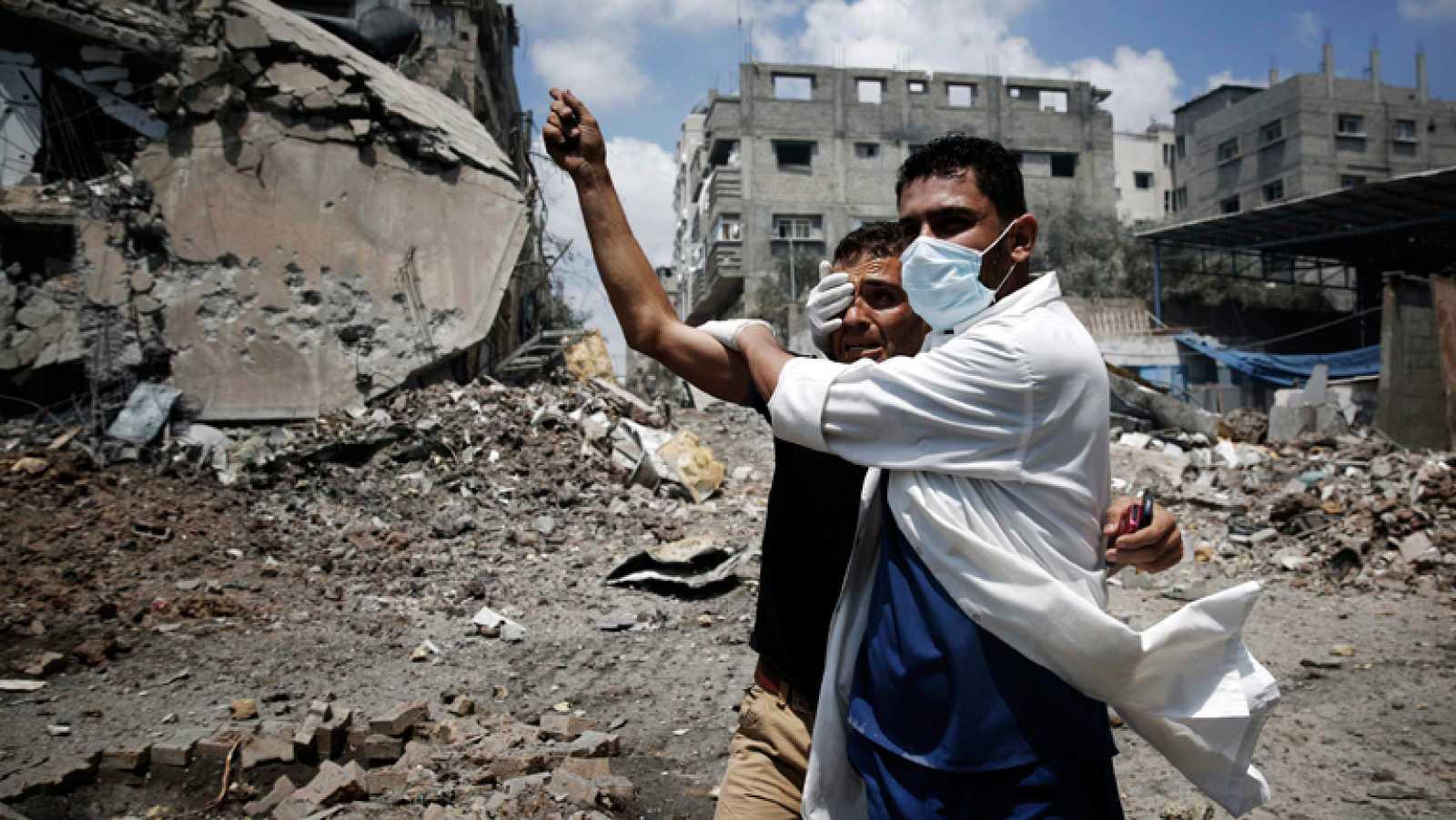 Jornada sangrienta en Gaza por la ofensiva israelí
