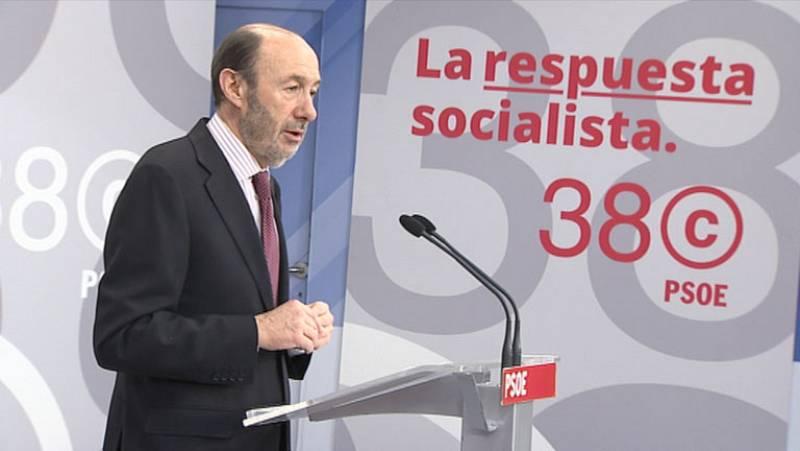 Última ejecutiva del PSOE con Alfredo Pérez Rubalcaba al frente