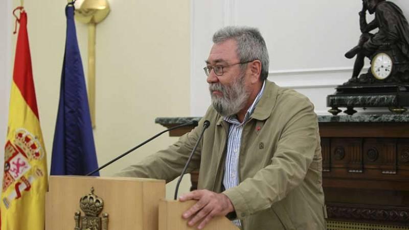 Méndez pide el indulto para los sindicalistas condenados