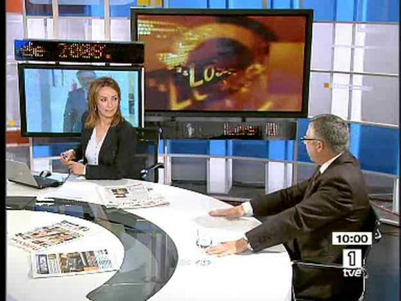José Blanco, en los Desayunos de TVE
