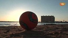 Fútbol playa - Liga nacional: resumen