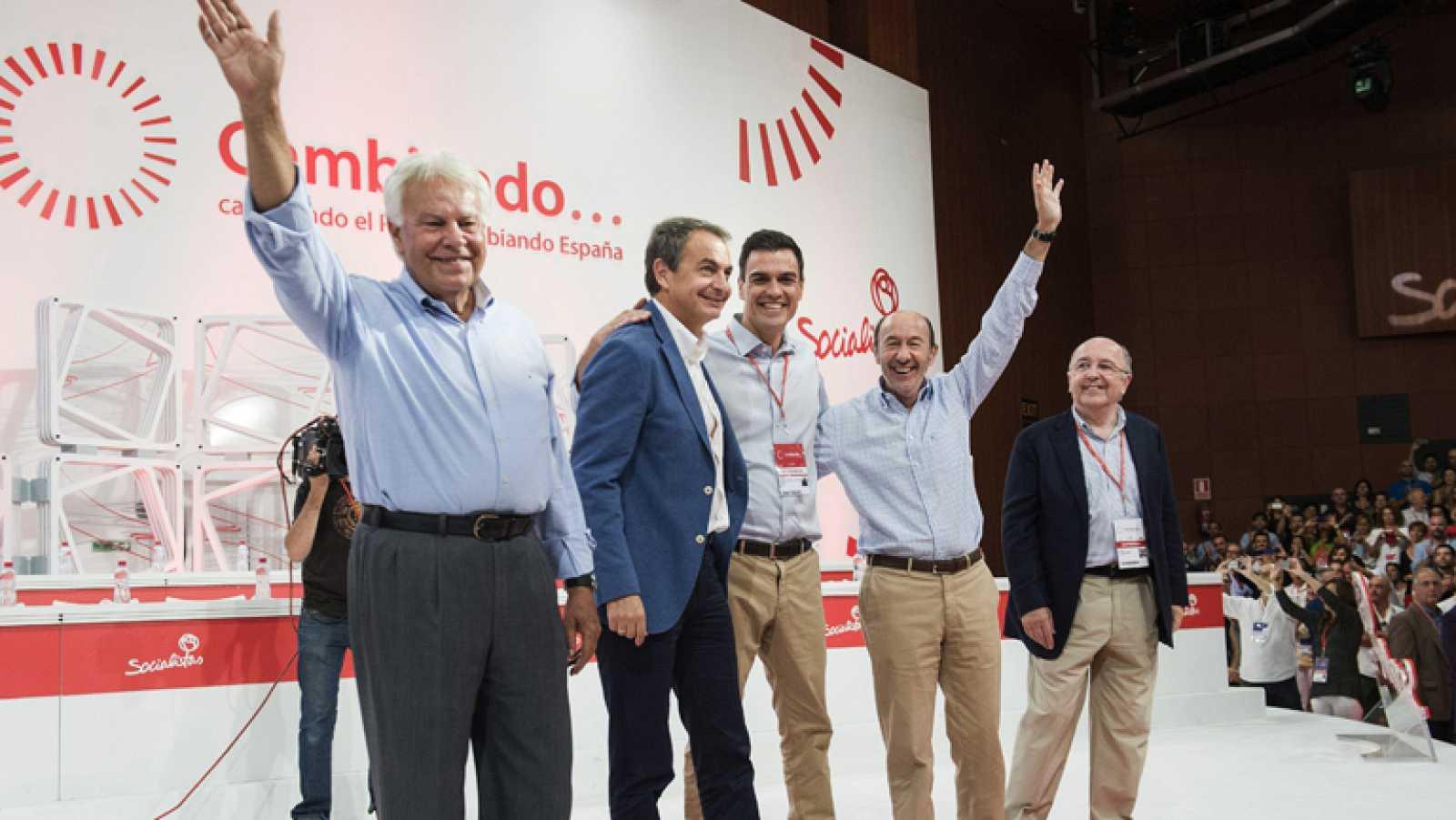 Para el líder del PSOE ha llegado la hora de trabajar y ser una alternativa de verdad