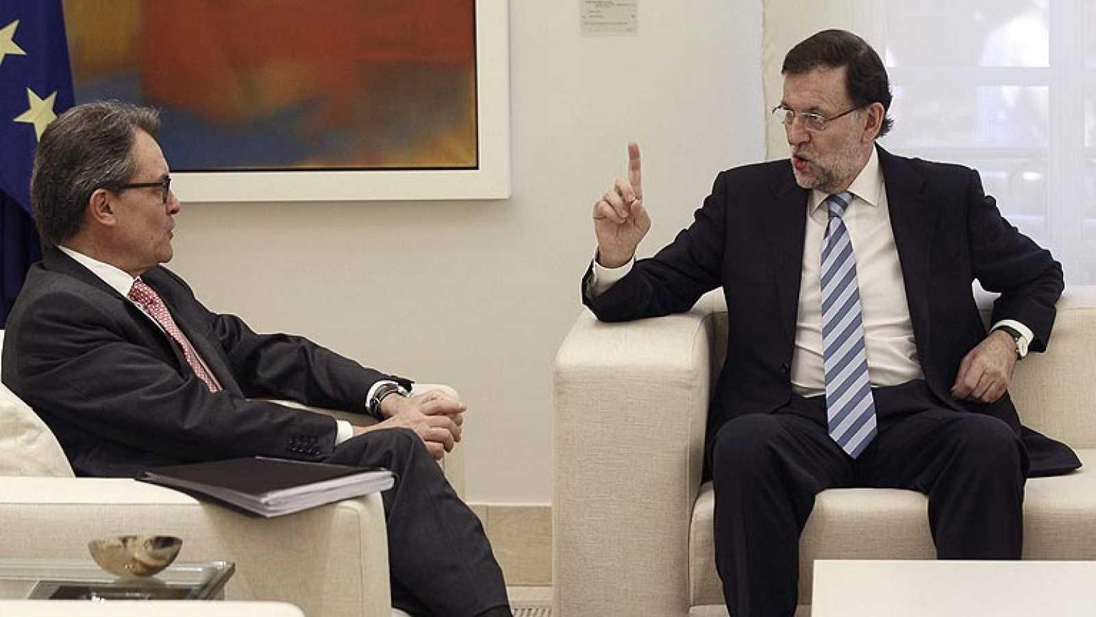 Artur Mas asegura que el clima de diálogo con Rajoy ha sido positivo